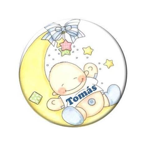 Chapas para Personalizar Baby