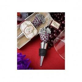 Tapón vino Uvas