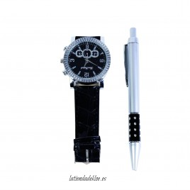 Reloj Hombre + Bolígrafo