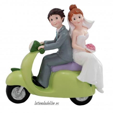 Figura Pastel Moto