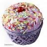 Cajita en forma de Cupcake