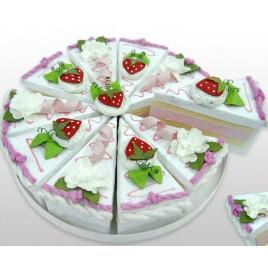 Set 10 cajas Porción Pastel