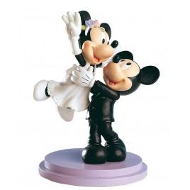 Figura Pastel Mickey y Minnie