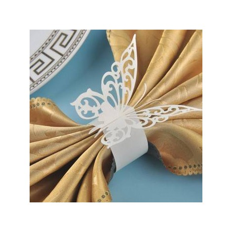 Mariposas sujeta servilletas (pack 12 unidades)