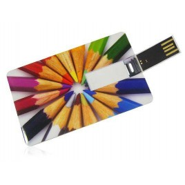 Memoria USB tarjeta Personalizada foto