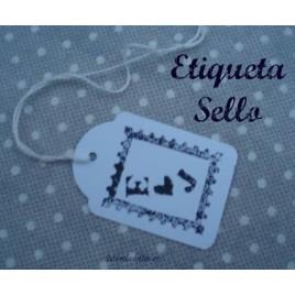 Etiqueta sello