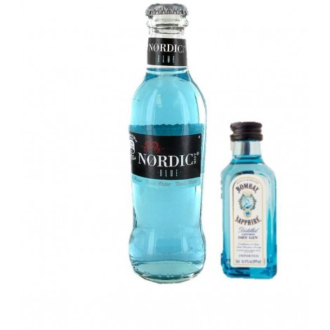 Pack 12 GINTONIC BLUE