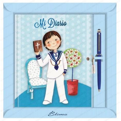 Diario Niño Marinero Primera Comunion