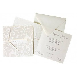 Invitacion boda elegant floral