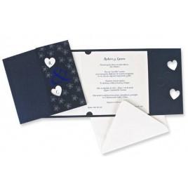 Invitacion boda Azul