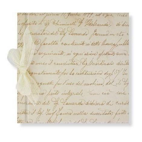 Libro Firmas Manuscrito