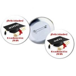Chapas Felicidades Graduacion