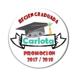 Chapas Recien Graduados