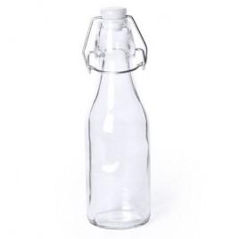 Botella cristal con tapon de colores