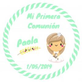 Hoja 15 Pegatinas Mimo Comunion