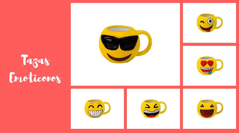 tazas emojis