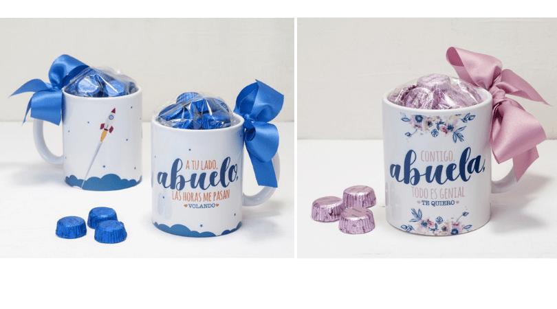 tazas para regalar a los abuelos