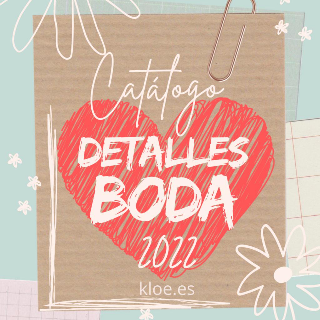 detalles de boda 2022