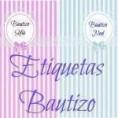 Etiquetas para Bautizo