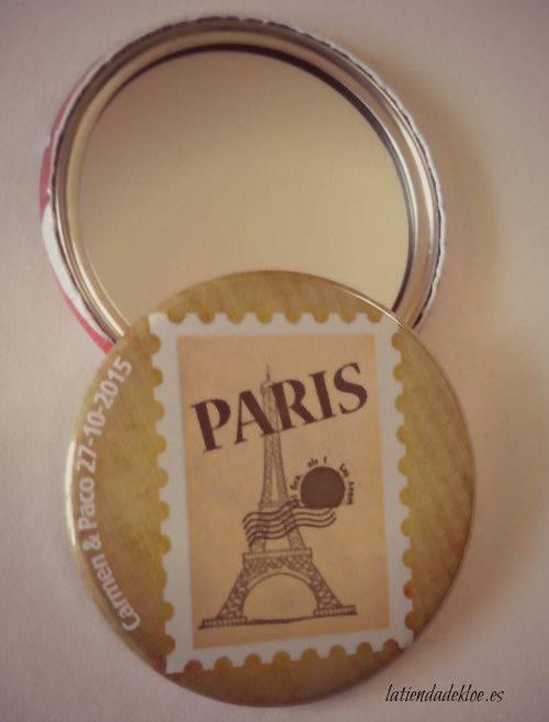 Espejo Sello Paris